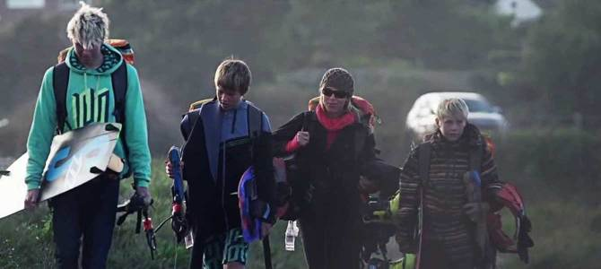 The Bridge Episode – Kitesurfing Family